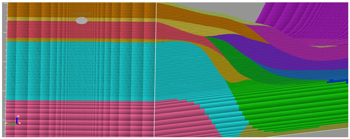 Воссоздание сложного геолого-литологического строения грунтов в программе  Frost 3D Universal