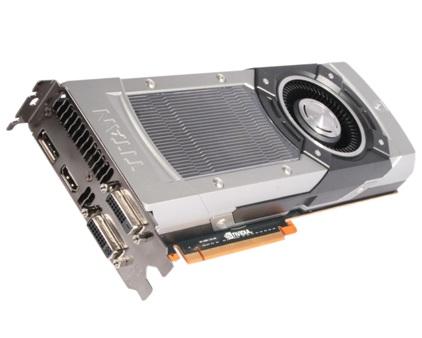 Тестовая модель видеоускорителя Nvidia Titan